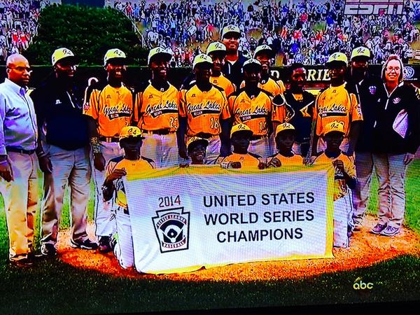 Now the whole nation can be as proud of these kids as we are! #JackieRobinsonWest #Chicago http://t.co/tjtM2RYN8Z
