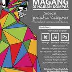 Kesempatan Magang Graphic Designer di Harian Kompas BDG. Kirimkan CV & portfolio ke fitri.listiyana@kompas.com http://t.co/4wa9ymbcYJ