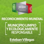 En Durango #ConstruimosLoMejor con un municipio limpio y sustentable @EVillegasV @JHerreraCaldera @otnielgarcia http://t.co/OI9I8GvXdc