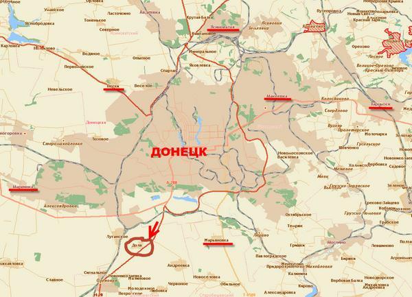 #Донецк'ой. однако пришли сообщения, что была атака на Тельманово.