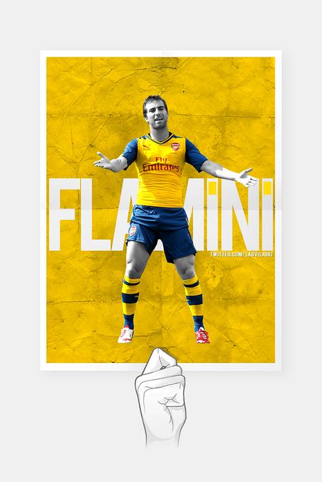 Papa yellow @Lagvilava7: Mathieu Flamini #AFC http://t.co/o7UxkqYCr1