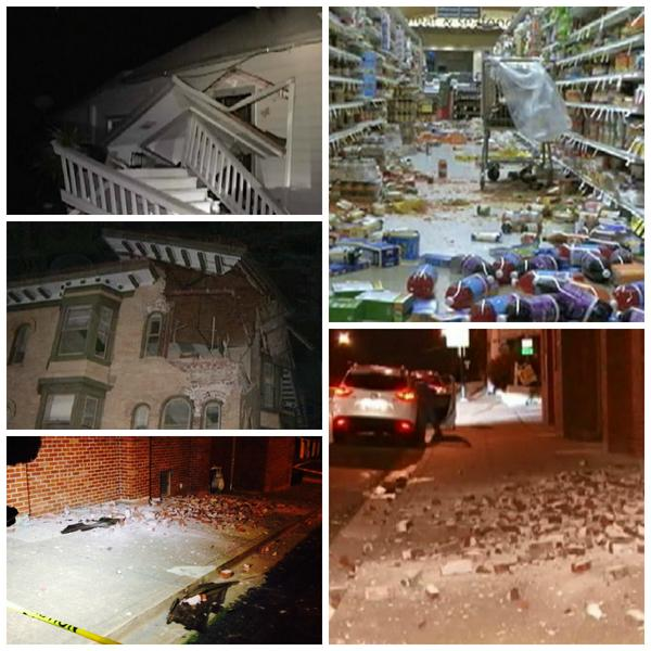Photos of damage in the areas of Napa and American Canyon from the #earthquake. Live coverage: http://t.co/ANLiKNAUlk http://t.co/BAvkOSBrPP