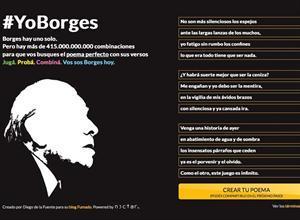 adnCULTURA (@adnCULTURA): El poema perfecto de #Borges, convertido en desafío virtual #YoBorges http://t.co/IpAYnHca3O http://t.co/tuRpCn9MhC