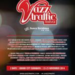 RT @eventsurabaya: Bank Jatim Jazz Traffic Festival 2014 | 22-23 Nov 2014 @GrandCitySBY #JTF2014 | @jazztraffic @e100ss http://t.co/cMDavMl3TA