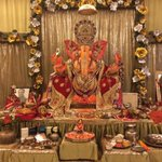 Morning time with Him. Tonight is Visarjan. Pray that he showers his blessings upon all of us. #GanpatiBappaMorya http://t.co/vl3EBLLwhI