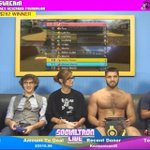 One of the many awkward moments during our @SocialTronLive GameAThon with special guest #NakedJoe