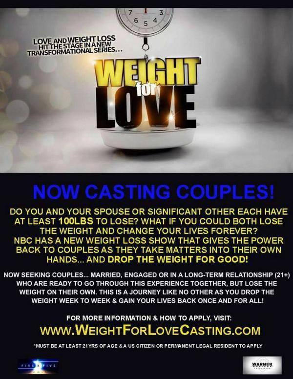 Posting 4 some of my amazing friends! RT @CastingKaz @hollandweathers #weightforlove #weightloss #couples #loseweight http://t.co/BYXbu6weXg