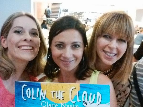 With @clarenasir and @kategarraway for launch of #colinthecloud @sciencemuseum #gmtvmemories http://t.co/sqGzXd1BaS