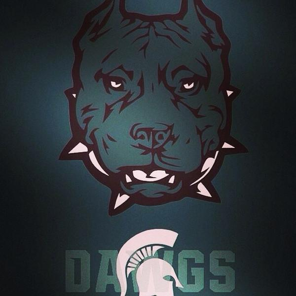 Oregon favored by 12. Just wait until the dogs are let loose. Everyone has a plan until they get hit. #SpartanDawgs http://t.co/6am1NaK4nG