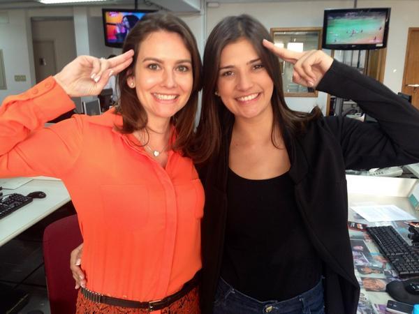 LUIZA ZANCHETTA (@LuizaZanchetta): Matando a saudade da equipe do #CidadeAlerta com @lillynascimentop a