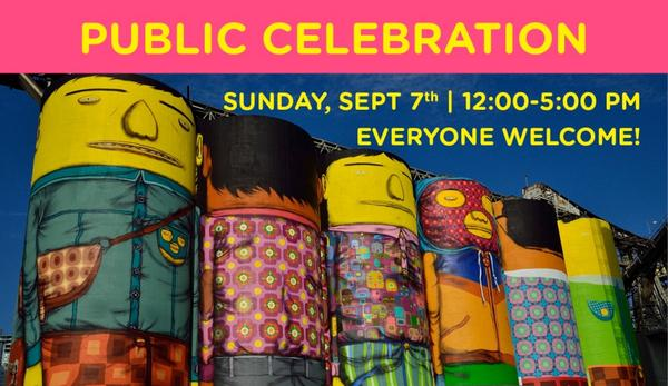 Join @OsGemeos and the @Van_Biennale for their public celebration tomorrow! http://t.co/G1kkxMoOiF