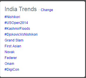 And our event trends on twitter. #DigiCon http://t.co/RJKJQXgNx9