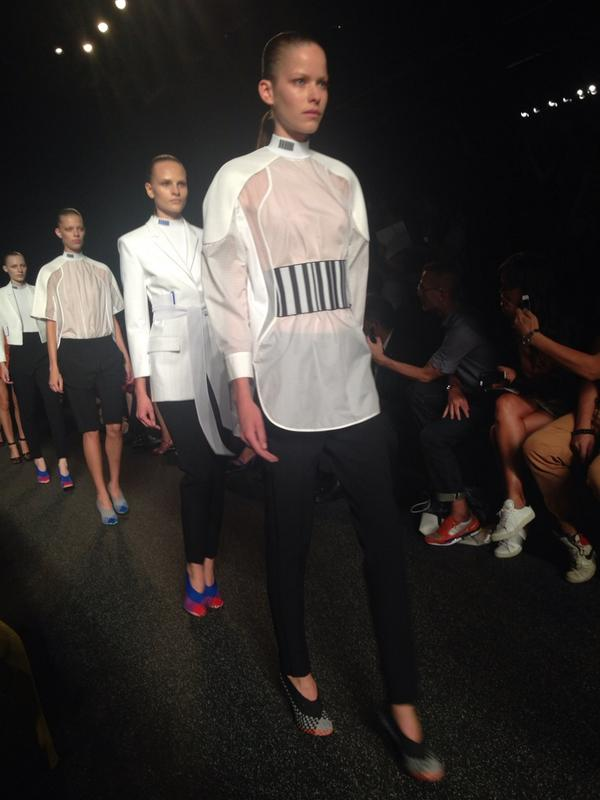 Scannable girls @AlexanderWangNY http://t.co/cPphZiCTGZ