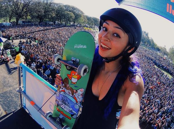 Excited share my experiences through @ActionCam! Insane demo today! This was only half the crowd http://t.co/By3afXC7Re
