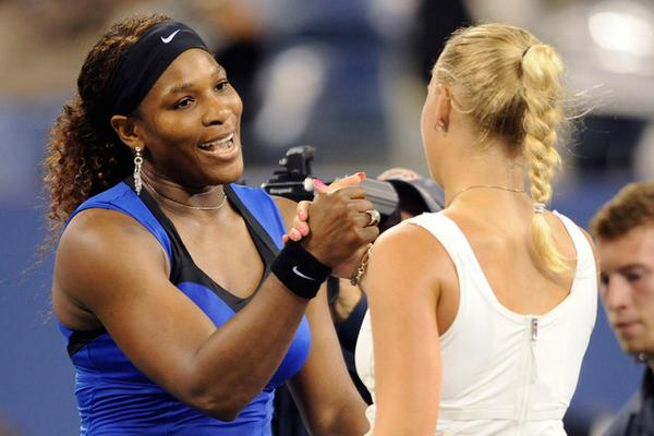 Of #Serena & #Wozniacki's six #usopen 2014 match wins to reach the final, which result has impressed you most & why? http://t.co/8SgvkKJj9p