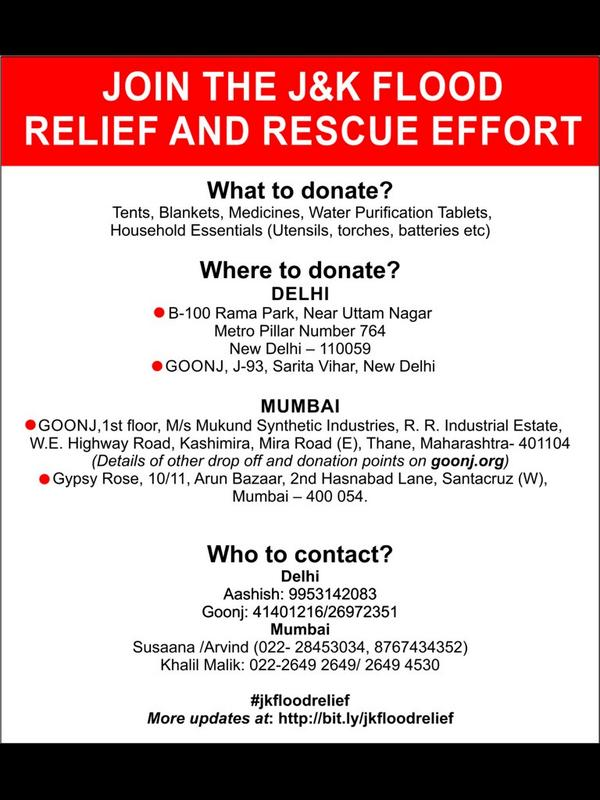 This is how you can contribute to the #jkfloodrelief effort. Pls RT. http://t.co/lWJOzZjHi4
