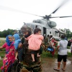 RT @manupubby: Air Force flies in for rescue ops in J&K . Jointly working with the army to evacuate citizens.
