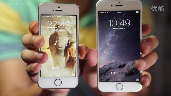 #iPhone6 何色にしよー?スペースグレイも格好良さそうだけど、シルバーかゴールドにしようかな。これはシルバーと5sゴールドの比較レビュー。→http://t.co/O8LpdPmicD http://t.co/wbyXj3kX0k