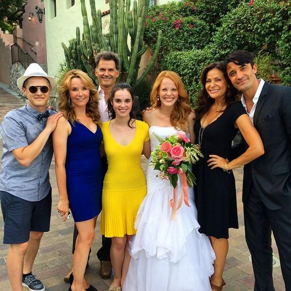 Congrats to @katieleclerc on getting married last night! RT to congratulate her! (Photo via @GillesMarini) http://t.co/Fv2h81hRn1