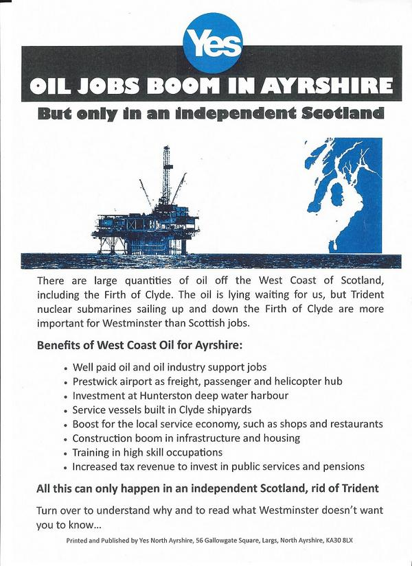 I think this was only distributed in the Ayrshire area, very interesting stuff. #VoteYes #YouYesYet http://t.co/XcAqnSVzXR