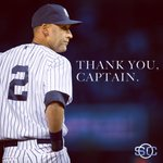 It's Derek Jeter Day at Yankee Stadium. Congratulations on a brilliant career.