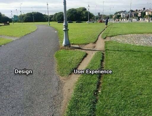What you design for vs. how they use it. #ux #design http://t.co/ti2UaPvaNE