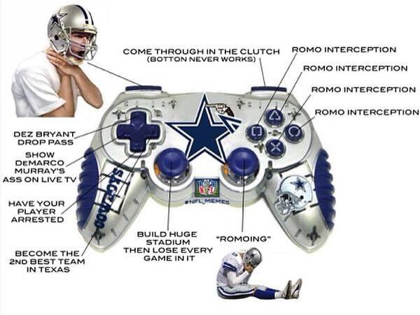 Romo thinks it's a playoff game... #SFvsDAL http://t.co/MgdJMp9sRG