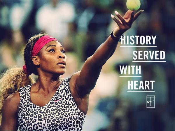 History served with heart. @SerenaWilliams #nikecourt #USOpen http://t.co/yz1klNbYTh