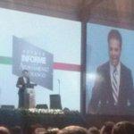 El alcalde @EVillegasV en su discurso de su #PR1MERINFORME de actividades #ConstruimosLoMejor http://t.co/jgcvZ6RZIF