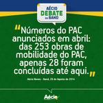 ELEITOR DO PT, DADOS REAIS NÃO MENTEM!! RT @AecioNeves: E o PAC? #EquipeAN #SomosAecio45 http://t.co/nN5XtZH2JR