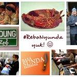 RT @mazNOT: Wilujeng #ReboNyunda. Hayu wargi BANDUNG @ridwankamil http://t.co/bnXty90ZyT