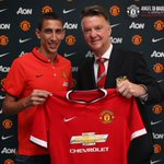 RT @RyanGiggs_cc: Welcome Angel Di Maria to Manchester United! #MUFC #WelcomeDiMaria http://t.co/LrtBjVuZg4