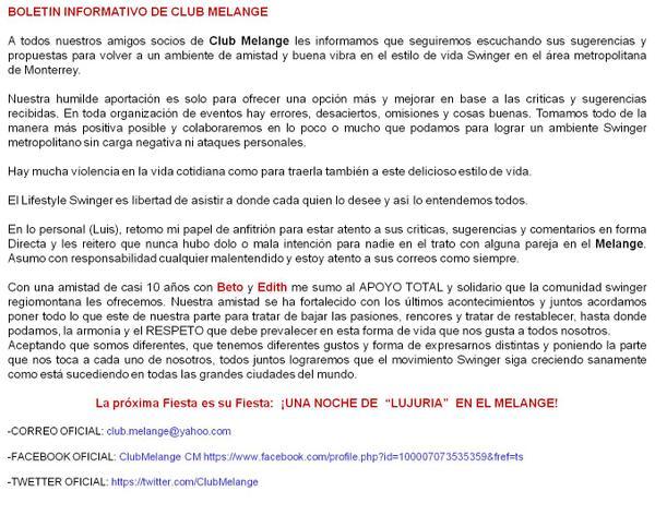 Club Melange (@ClubMelange): http://t.co/NppzzFn7Gk