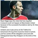 RT @paddypower: Ryan Giggs, back in 2011: http://t.co/l2Y5TYUznd