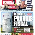 La UNE du Journal de MONTRÉAL, édition du 27 août 2014. http://t.co/wj7Bq1ciRm
