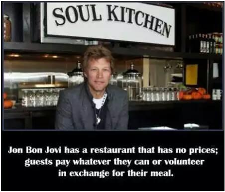 Good going Bon Jovi, long live Soul Kitchen! http://t.co/cReNtQCKMs