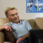 Heres a picture taken from David Moyes Instagram account last night. Looks like someone enjoyed the United game. http://t.co/TQxLXOJvU5