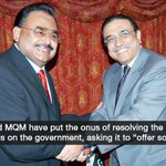 PPP, MQM want govt to offer 'sacrifice' to save democracy | http://t.co/ps85eQq582 http://t.co/SrCiuLIsKD