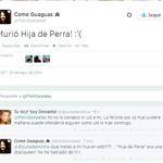 RT @rvfradiopopular: Así, la Gran #HijadePerra se fue, no sin antes dejarnos su última perfomance jodiéndose a una UDI como Andrea Molina. http://t.co/MnwxCQWbYA