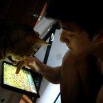 역시 남자들은 게임을 좋아해... #천둥 #다둥 http://t.co/UbKeFGnRap