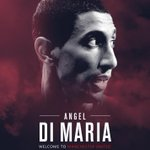 From Madrid to Manchester: Angel Di Maria is now a Red. #WelcomeDiMaria http://t.co/f7CoqDnebf