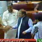 RT @PTVNewsOfficial: Prime Minister Nawaz Sharif arrives In National Assembly. http://t.co/8OOyHrmUWJ