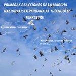 """Primeras reacciones a la marcha nacionalista peruana al """"tríangulo terrestre"""" JAJAJA! http://t.co/KkBO7EEcJL"""