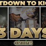 RT @UCFKnights: We are officially 72 hours from kickoff in the @CrokePkClassic! #IrishKnights #ChargeOn http://t.co/82iN9drvda