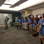 #WATCH: Several members of the #TaneyDragons stopped by CBS 3! @UkeeWashington played catch! | http://t.co/sST5xcqtyY http://t.co/TWMvWMGjir