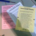 Då har jag förtidsröstat - på mig själv! Så ego... #fempol #funkpol #val2014 #röstarosa #taplats #dinröst http://t.co/L5FJLLqvuf