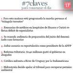 RT @latercera: Comienza el día informado con las #7claves http://t.co/Oxpv99iIvX http://t.co/0mAUUIsEKL
