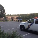 Two bodies, bound with duct tape dumped early this morning in the river on Kelly Drive. Another man in hospital. http://t.co/RgDh2YeyGp