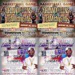 RT @TeamFatStar: ???????????????????????? Labor Day Weekend !! Basketball Game Aug30th @ Downtown Rec Center .. On Aug 31st All White Party @ Club Glitz http://t.co/bgOrVQN1g8