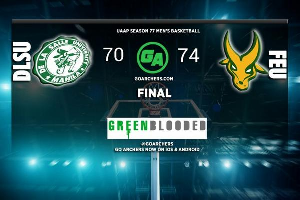 RT @GoArchers: The Green Archers' 7-game winning streak is over. They fall to 7-3 in a tie with ADMU and NU for 2nd place #GoLaSalle http://t.co/DvJoS6Nj5g